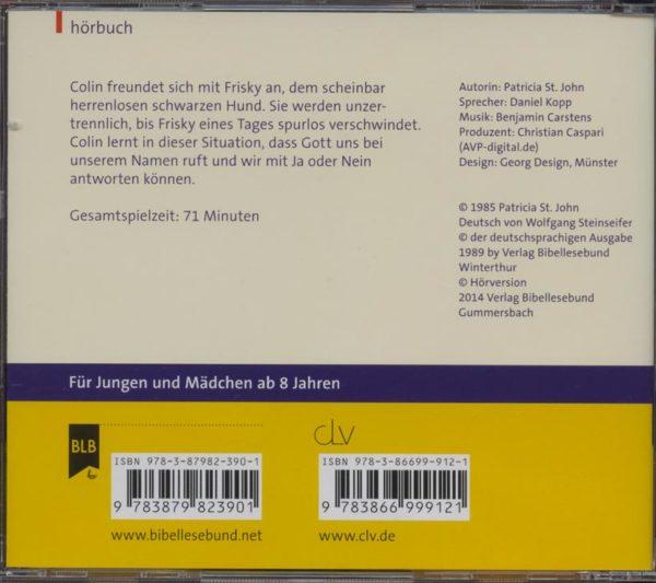 Mein Freund Frisky Hörbuch-461