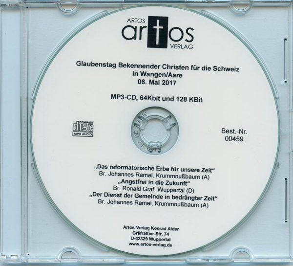 MP3-CD Glaubenstag Bekennender Christen in Wangen (CH) 06.05.17-0