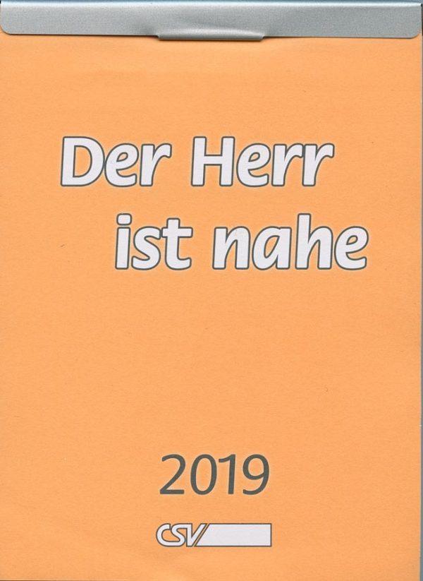 Der Herr ist nahe 2019 - Abreißkalender (vergriffen)