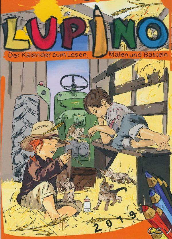 Lupino Wandkalender für Kinder 2019 (vergriffen)