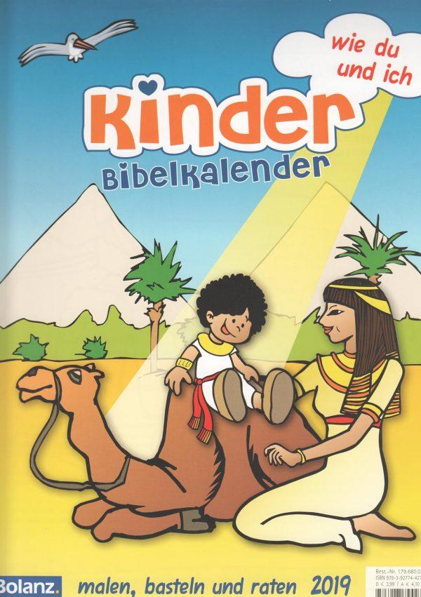 Kinderbibelwandkalender 2019