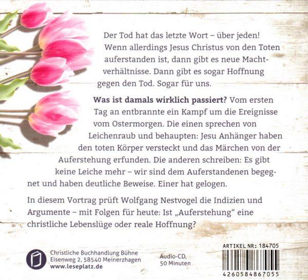 Die Lüge von Ostern CD Rückseite 600x545 - Die Lüge von Ostern CD