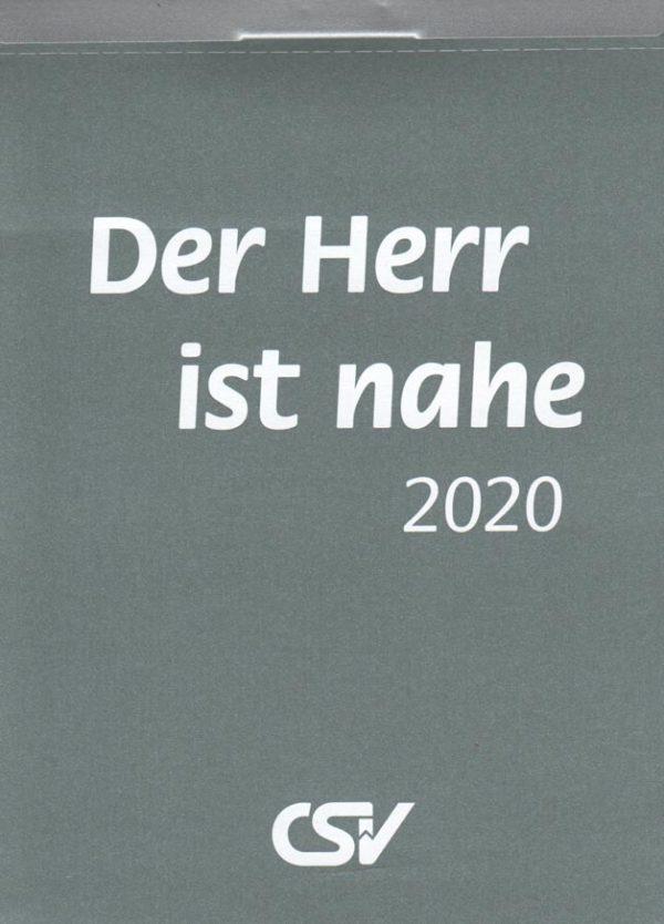 Der Herr ist nahe 2020 Abreißkalender
