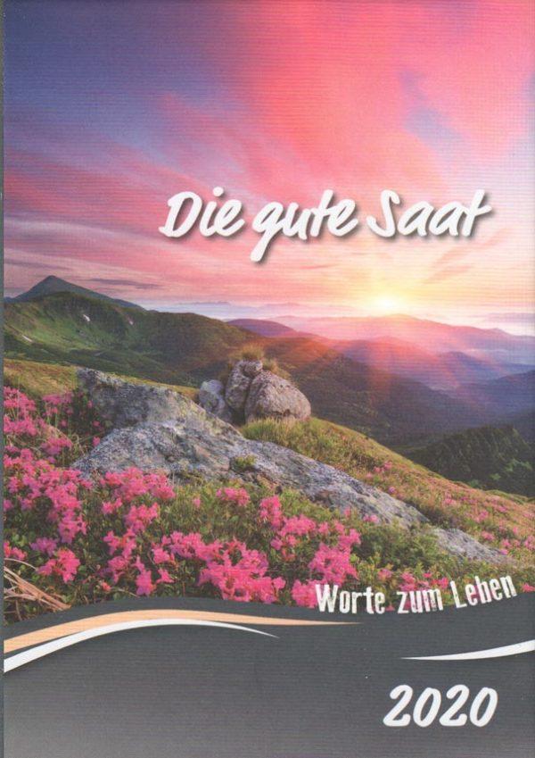 Die gute Saat 2020 Buchkalender 600x849 - Die gute Saat 2020 Buchkalender