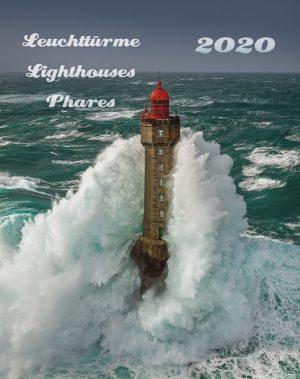 Leuchttürme 2020 dreisprachiger Wandkalender