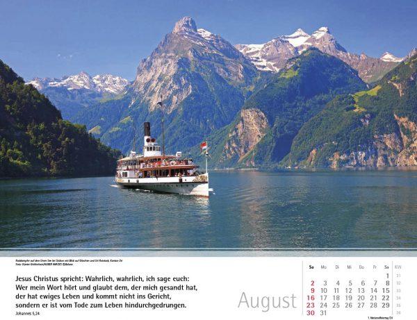 Schweizer Bergkalender 2020