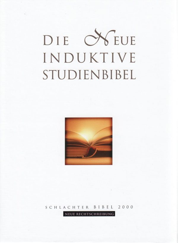 Die neue induktive Studienbibel Schlachter 2000 600x817 - Neue Induktive Studienbibel