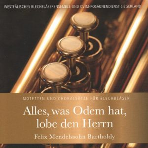 Alles, was Odem hat, lobe den Herrn Audio-CD