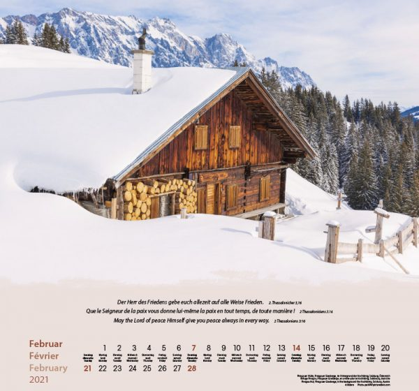 179601021 02 600x560 - Berge-Montagnes-Mountains 2021 Wandkalender
