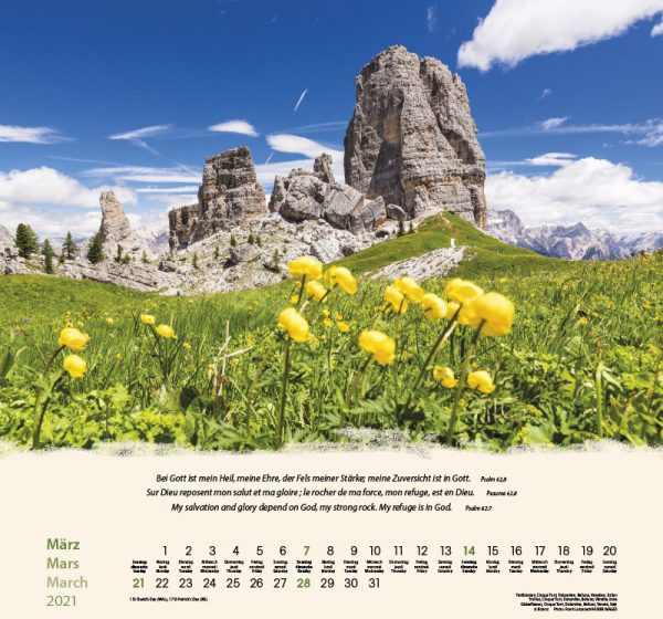179601021 03 600x560 - Berge-Montagnes-Mountains 2021 Wandkalender