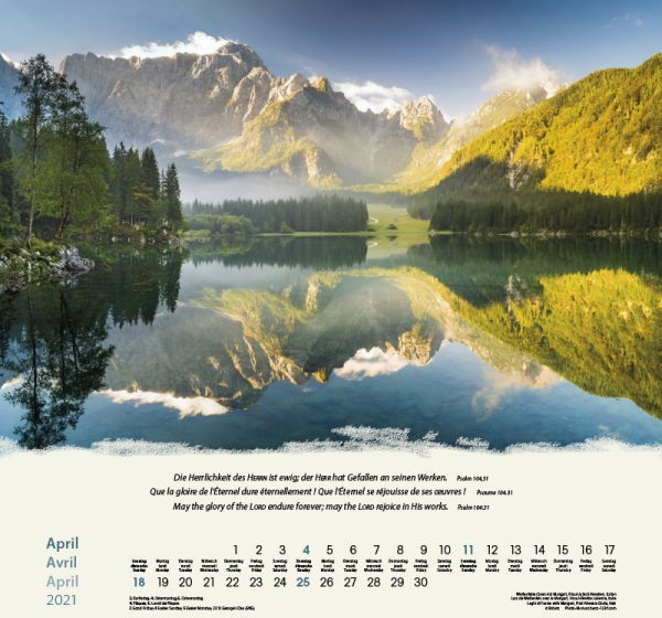 179601021 04 600x560 - Berge-Montagnes-Mountains 2021 Wandkalender