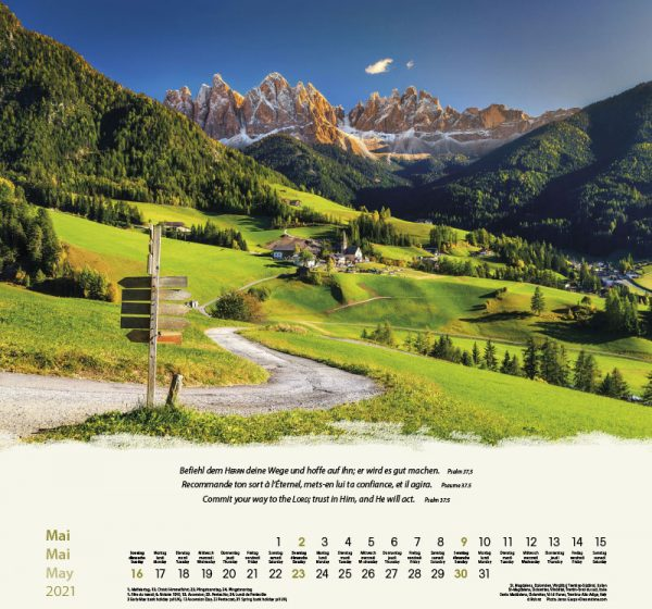 179601021 05 600x560 - Berge-Montagnes-Mountains 2021 Wandkalender