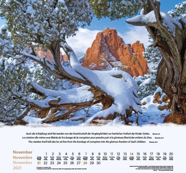 179601021 11 600x560 - Berge-Montagnes-Mountains 2021 Wandkalender