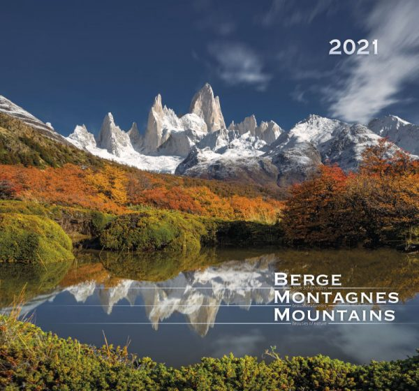 179601021 13 600x560 - Berge-Montagnes-Mountains 2021 Wandkalender