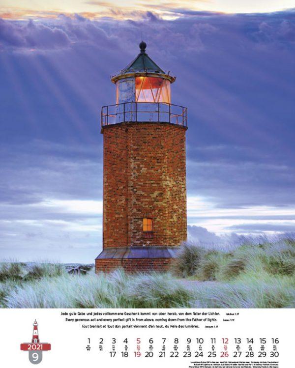 179694021 09 600x749 - Leuchttürme 2021 dreisprachiger Wandkalender