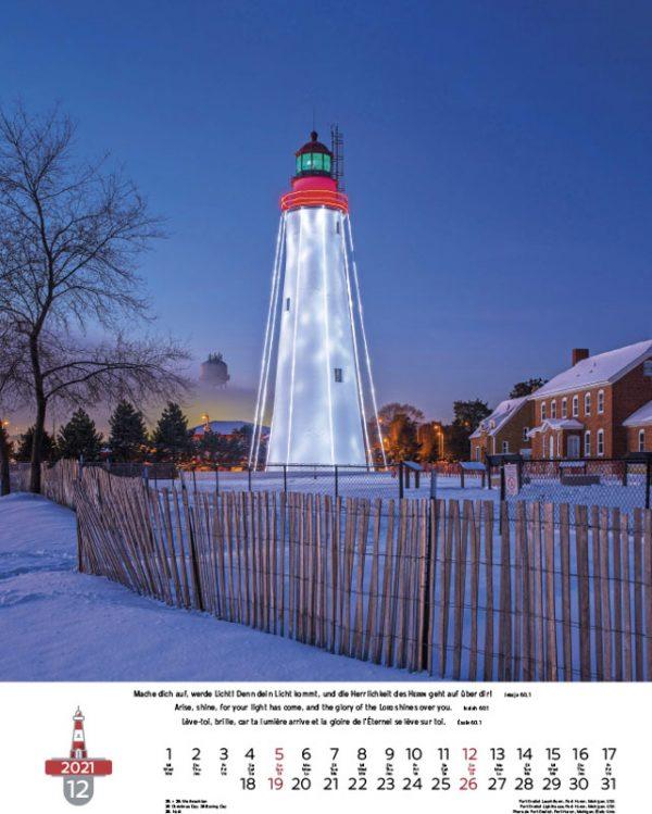 179694021 12 600x749 - Leuchttürme 2021 dreisprachiger Wandkalender