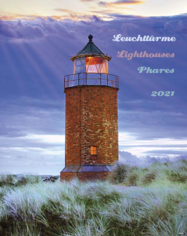 179694021 13 600x757 - Leuchttürme 2021 dreisprachiger Wandkalender