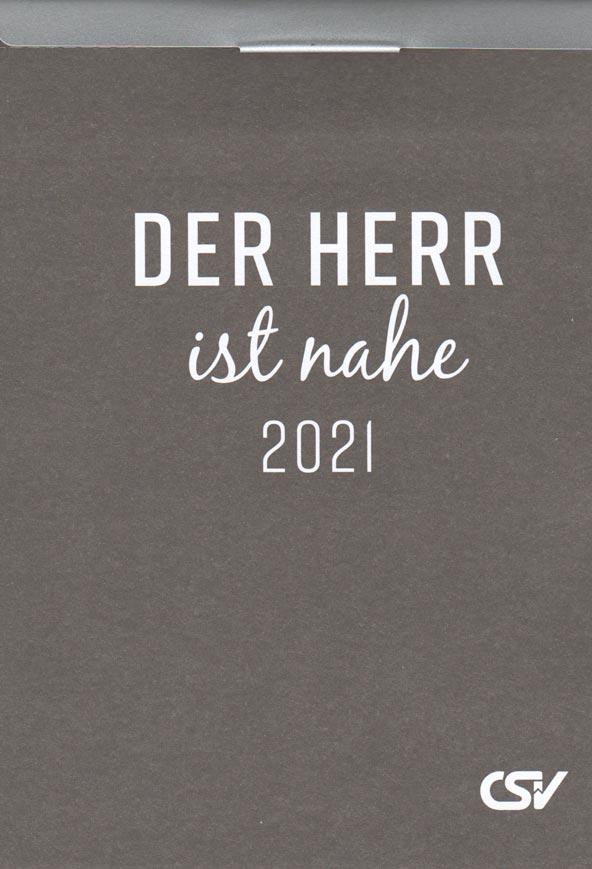 Der Herr ist nahe 2021 Abreiss - Der Herr ist nahe 2021 Abreißkalender