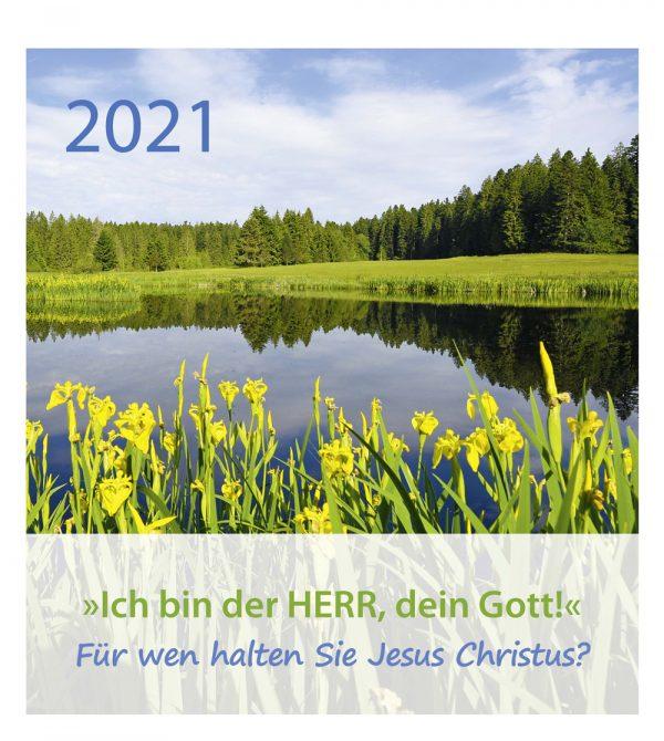 Ich bin der HERR dein Gott 2021 600x670 - Ich bin der Herr, dein Gott! 2021 Tischkalender