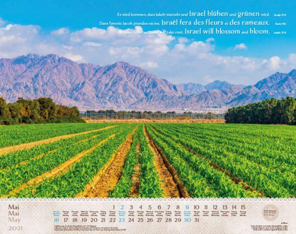179603021 05 600x476 - Israel Shalom 2021 Wandkalender