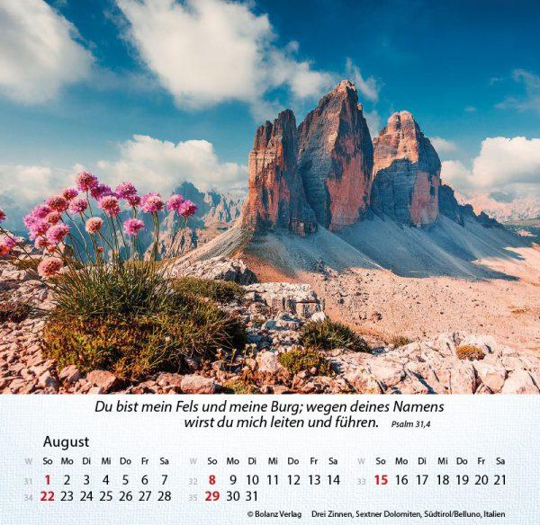 179631021 08 600x584 - Berge 2021 Tischkalender