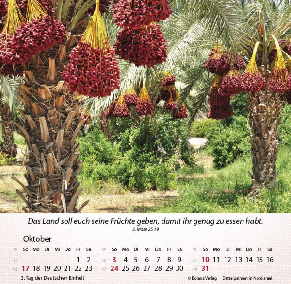 179658021 10 600x584 - Israel Shalom 2021 Tischkalender