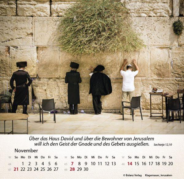 179658021 11 600x584 - Israel Shalom 2021 Tischkalender