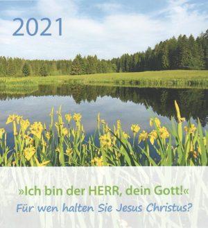 Ich bin der Herr dien Gott 2021 300x329 - Ich bin der Herr, dein Gott! 2021 Tischkalender