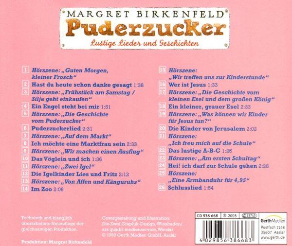 Puderzucker CD Rueckseite 600x506 - Puderzucker Audio-CD
