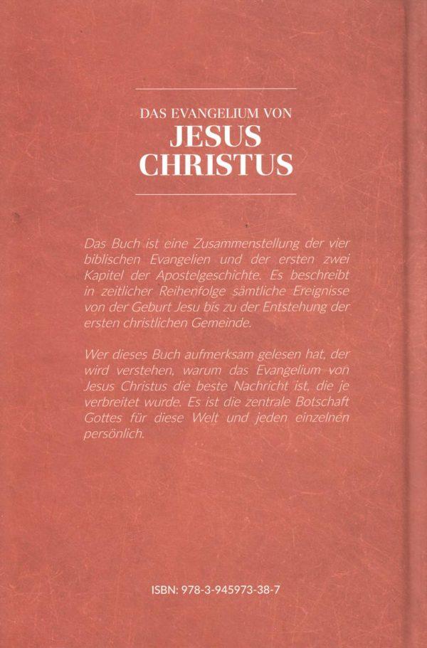 Das Evangelium von Jesus Chrsitus Rueckseite 600x911 - Das Evangelium von Jesus Christus