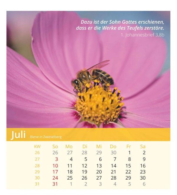 Ich bin der Herr, dein Gott! 2022 Tischkalender
