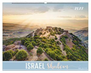 Israel Shalom 2022 Wandkalender