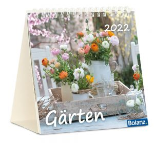 Gärten 2022 Tischkalender