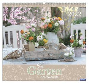 Im Garten zuhause 2022 Wandkalender