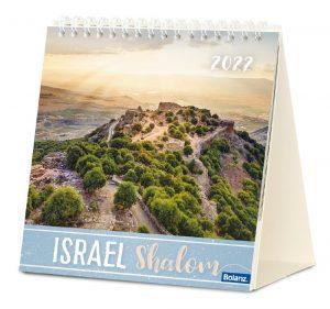 Israel Shalom 2022 Tischkalender